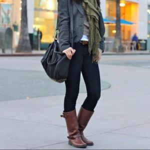 Steve Madden Frencchh French Leather Engineer Boot